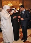 the saudi king abdullak and Elbak Elislami